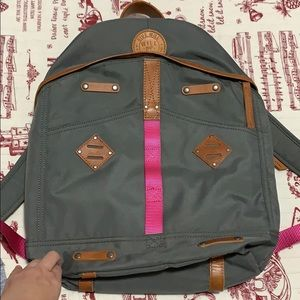 Will leather goods backpack new without tags